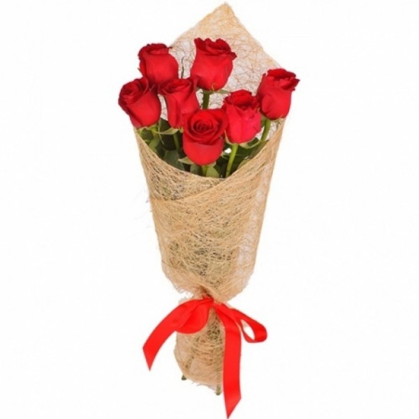 Букеты роз из 7 роз фото