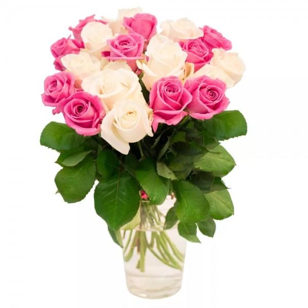 Собрать букет из гербер микс, букет цветы черные розы красные фото