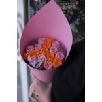 Розы шоколадные 19 шт  02