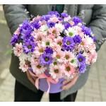 Цветы в коробке Лаура