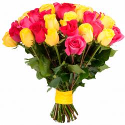 Розы в ассортименте.