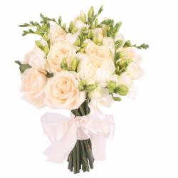 Букеты для невест с розами