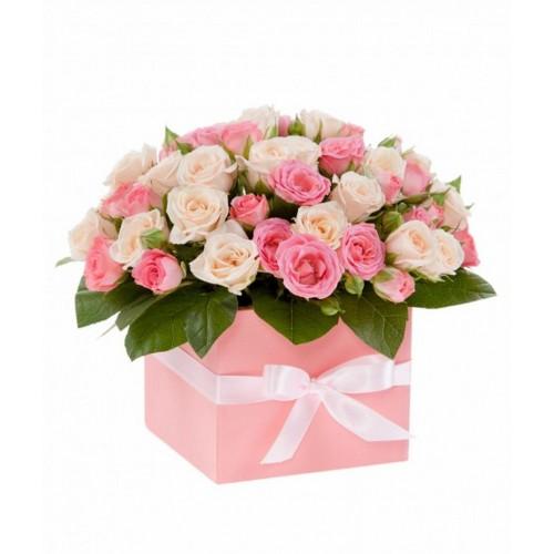 Цветы в коробке арт.№0004